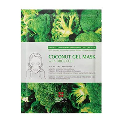 Leaders Coconut Gel Mask with Broccoli