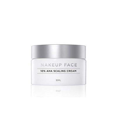NAKEUP FACE 10% AHA Scaling Cream