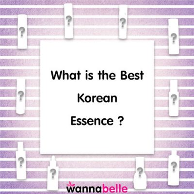 What is the Best Korean Essence?